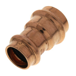 "1"" x 3/4"" Press Copper Reducer Coupling Product Image"