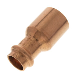 "1"" FTG x 1/2"" Press Copper Reducer Product Image"
