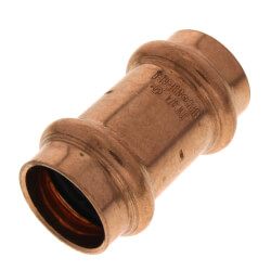 "3/4"" Press Copper Coupling Product Image"
