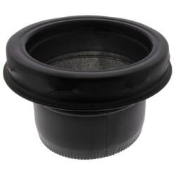 "6"" Black Stovepipe Adapter (TLCSPA Series) Product Image"