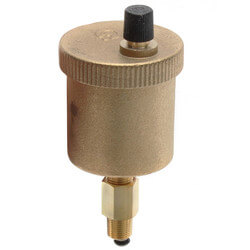 "1/8"" Male NPT MINICAL Automatic Air Vent w/ Service Check Valve Product Image"