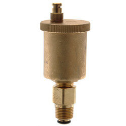 """1/2"""" High Capacity Auto Air Vent with Check Valve Product Image"""