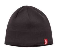 Fleece Lined Beanie (Gray) Product Image