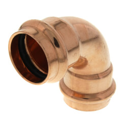 """1"""" Press Copper 90° Elbow Product Image"""