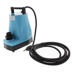 5-MSP 1/6 HP, 1,200 GPH Submersible Utility Pump<br>w/ 10' Cord Product Image