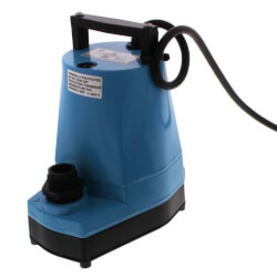 5-MSP Submersible <br>Sump/Utility Pump, <br>115V, 1/6HP, 25' cord Product Image