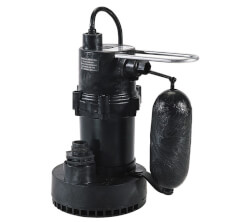 5.5-ASPA 1/4 HP, 35 GPM<br>Submersible Sump Pump 10' Cord Product Image