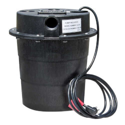 WRS-6 1/3 HP, 230V Submersible Auto Utility Sump Pump, 5 Gal. Tank Product Image