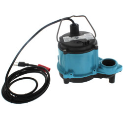 6-CIA-RFS 1/3 HP, 45 GPM 115V - Submersible Auto Sump Pump Product Image