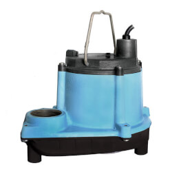 6-CIA-RS 1/3 HP, 45 GPM 115V - Submersible Auto Sump Pump Product Image