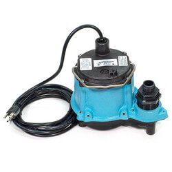 6-CIM-R 1/3 HP, 45 GPM Man. Submersible Sump Pump, 10' Cord Product Image