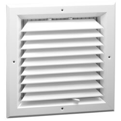 "6"" x 6"" (Wall Opening Size) White Ceiling Diffuser (A501MS Series) Product Image"