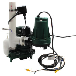 Aquanot 508 Sump Pump System w/ M53 pump & 12V Battery Back-Up Product Image