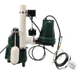 Aquanot 508 Sump Pump System w/ M98 pump & 12V Battery Back-Up Product Image