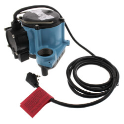8-CIA, 4/10 HP, 45 GPM Auto Submersible Sump Pump, 10' Cord Product Image