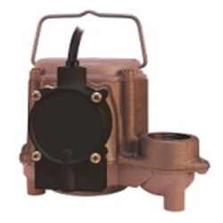 8-CBA 4/10 HP, 45 GPM<br>Automatic Submersible Sump Pump, 10' Cord Product Image