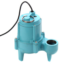9SC-CIM 4/10 HP - Manual Submersible Effluent Pump, 20 ft Power Cord Product Image
