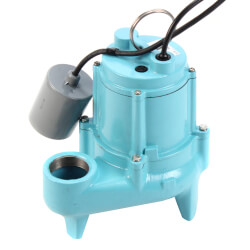 9SN-CIA-RF 4/10 HP Submersible Effluent Pump (20' Cord) Product Image