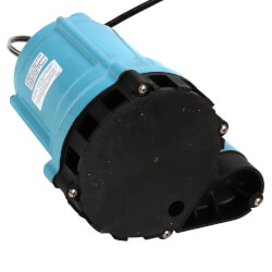 9EN-CIM 4/10 HP, 80 GPM<br>Man. Submersible Sump Effluent Pump, 30' Cord Product Image