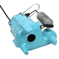 9SN-CIA-SFS 4/10 HP - Man. Submersible Effluent Pump 20 ft Power Cord Product Image