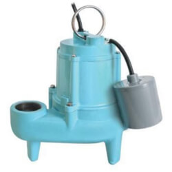 9SC-CIA-RF 4/10 HP Submersible Effluent Pump (20' Cord) Product Image