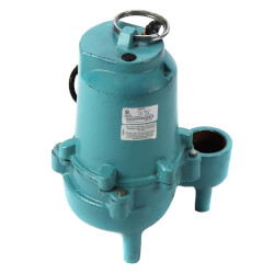 ES40M1-10 4/10 HP<br>60 GPM, 115V Submersible Man. Sewage Pump Product Image