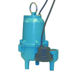 ES40D1-10 4/10 HP 60 GPM 115V - Submersible Auto Sewage Pump Product Image