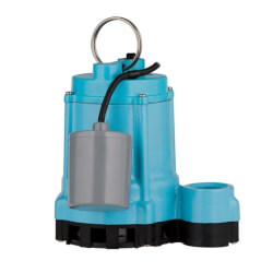 9EC-CIM 4/10 HP, 80 GPM - Manual Submersible Sump Effluent Pump, 20' power cord (115v) Product Image