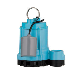 9EC-CIM 4/10 HP, 70 GPM - Manual Submersible Sump Effluent Pump, 20' power cord (208-230V) Product Image