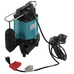 10EC-CIA-SFS 1/2 HP 67 GPM Auto Submersible Sump Pump, 20' Cord Product Image