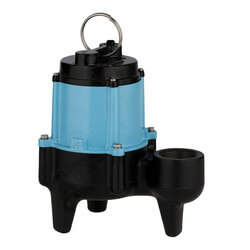 10SN-CIM-RF 1/2 HP, 95 GPM@10' - Submers. Man. Sewage Pump, 20' Cord Product Image