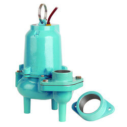 ES60M1-20 6/10 HP<br>127 GPM Submersible Man. Sewage Pump 115V Product Image