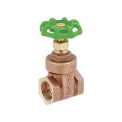 "2-1/2"" Solder Ends Gate Valve, Lead Free Product Image"