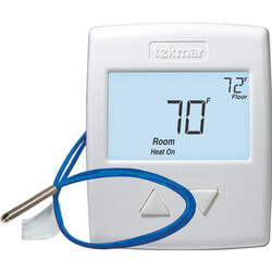 519 One Stage Heat Thermostat w/ Slab Sensor (518 + 079) Product Image