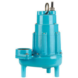 20S-CIM 2HP 230V, 205 GPM Submersible Man. Sewage Eject. Pump, 3 Ph Product Image