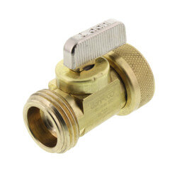 Male Hose x Female Swivel Hose and Boiler Drain, Lead Free (Brass) Product Image