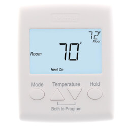 2 Stage Heat / Heat - Cool Programmable Thermostat (Includes 079 Sensor) Product Image