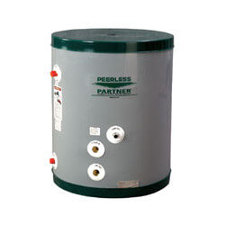 PP-30-LB, 22 Gallon Peerless Partner Single Wall Indirect Water Heater (Low Boy) Product Image