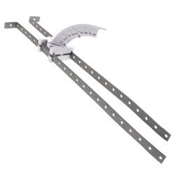 """L-Bent StrongArm Bracket w/ Plastic Bend Support for 16"""" Stud Bays Product Image"""