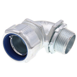 """1"""" Non Insulated Malleable Iron 90° Liquid Tight Elbow Product Image"""