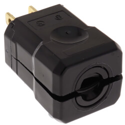 Industrial Grade, 2 Piece Plug 15A, NEMA 5-15P - Black (125V) Product Image