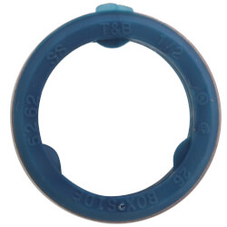 """1-1/2"""" Liquid Tight Sealing Gasket w/ 316 Stainless Steel Retainer Ring Product Image"""