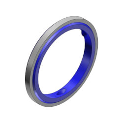 "1/2"" Liquid Tight Sealing Gasket w/ 316 Stainless Steel Retainer Ring Product Image"