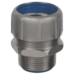 """1/2"""" 316 Stainless Steel Straight Liquid Tight Connector Product Image"""