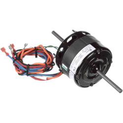 "4-5/16"" 3-Spd Dbl Shaft Blower Motor (115V, 1550 RPM, 1/15, 1/20, 1/25 HP) Product Image"