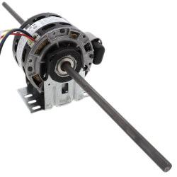 "5"" 4-Speed Dbl Shaft Fan Motor (115V, 1075 RPM, 1/20, 1/30, /50, 1/75 HP) Product Image"