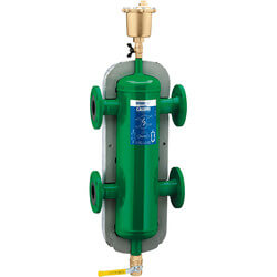 "HydroCal 3"" ANSI Flange<br>3-in-1 Air, Dirt & Hydraulic Separator Product Image"