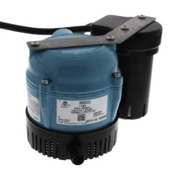 1-ABS, 230V, Shallow Pan Condensate Removal Pump Product Image