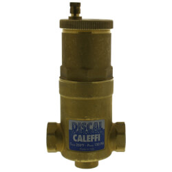 """3/4"""" NPT Female DISCAL Compact Air Separator w/ Service Check Valve Product Image"""