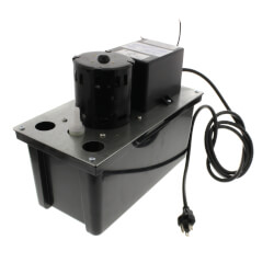 VCL-14ULS, 200 GPH Automatic Condensate Removal Pump w/ Safety Switch (115V) Product Image